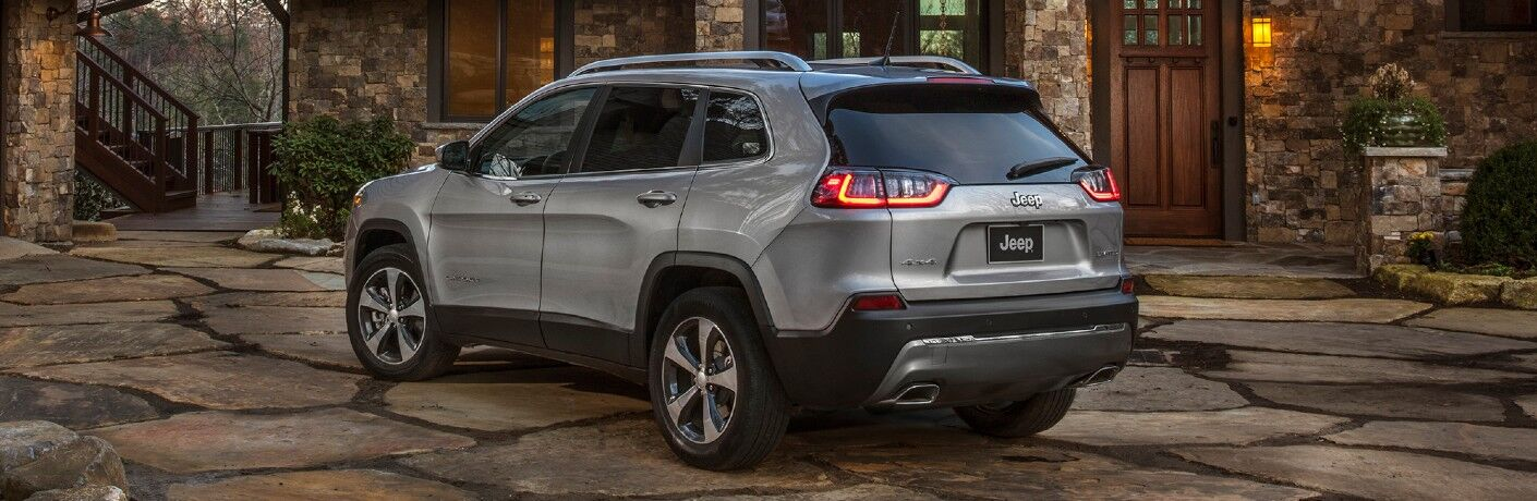 2021 Jeep Cherokee on residential driveway
