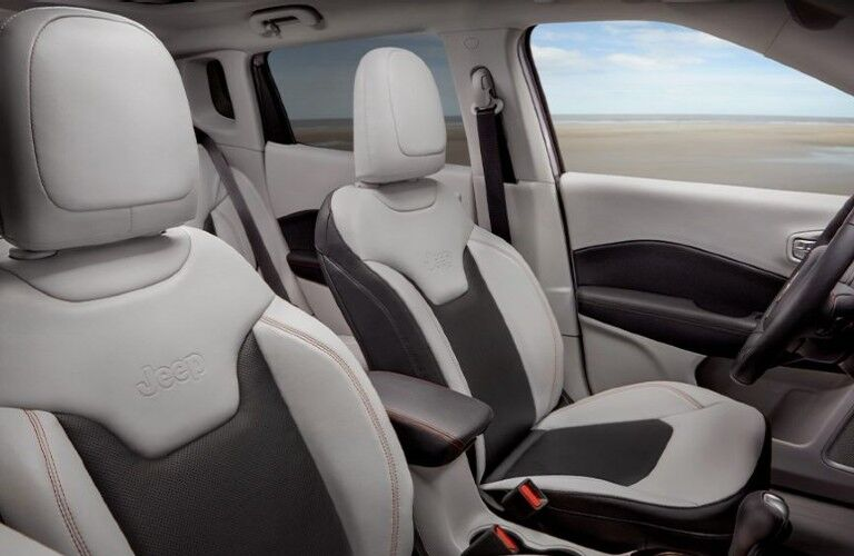 2021 Jeep Compass front seats