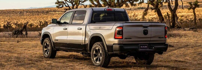 2021 RAM 1500 on desert terrain