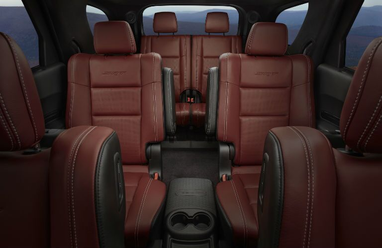 An interior photo of the 2019 Dodge Durango.