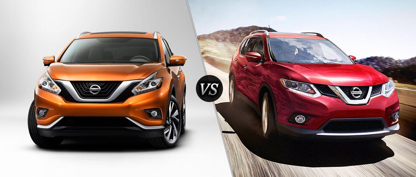 2016 Nissan Murano vs 2016 Nissan Rogue