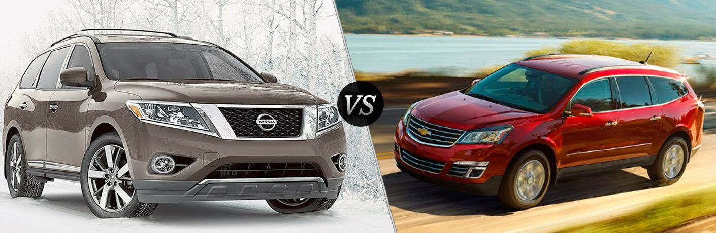 2016 Nissan Pathfinder vs 2016 Chevy Traverse