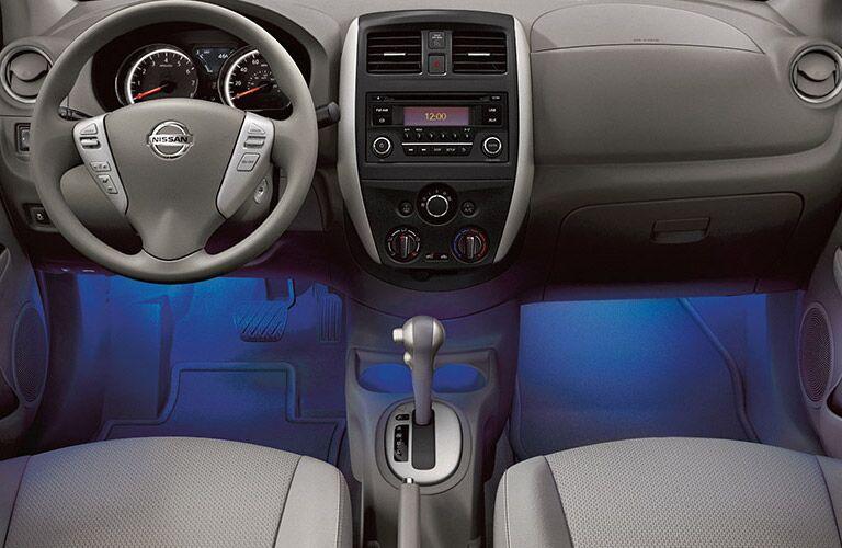 2016 Nissan Versa Interior Glow