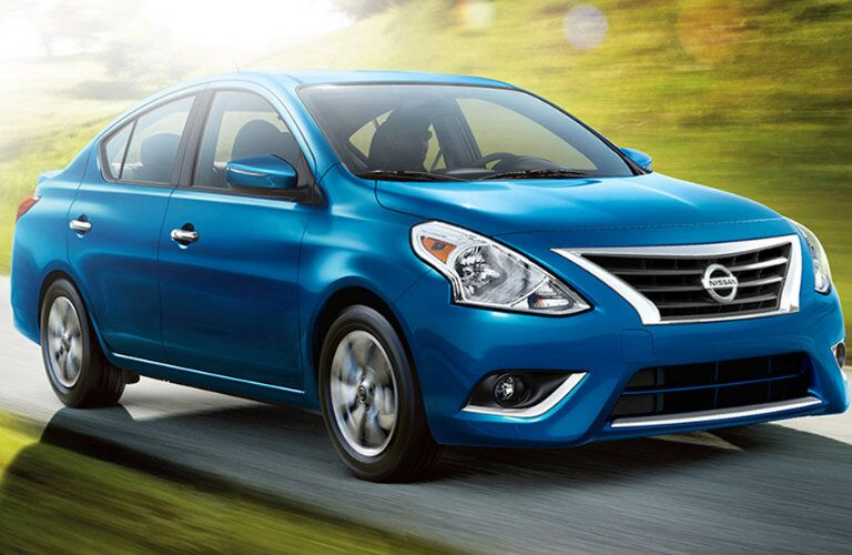2016 Nissan Versa Blue