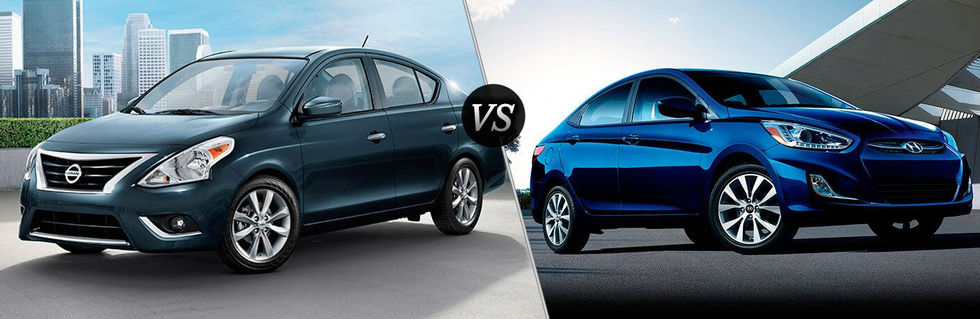 2016 Nissan Versa vs 2016 Hyundai Accent