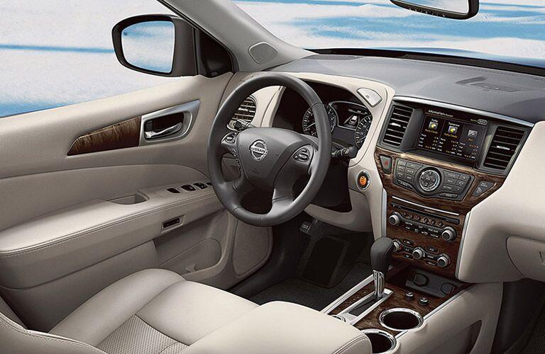 2016 Nissan Pathfinder Dash