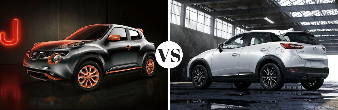 2017 Nissan JUKE vs 2017 Mazda CX-3