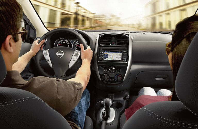 2017 Nissan Versa Sedan Navigation