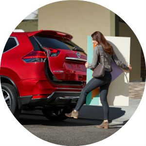 2017 Nissan Rogue motion activated liftgate