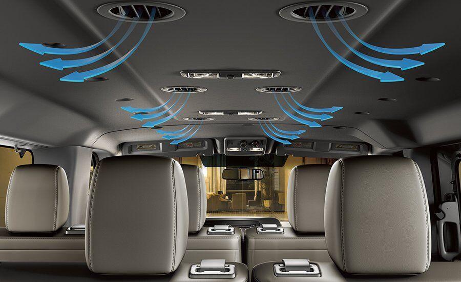 2017 Nissan NV Passenger Air Vents
