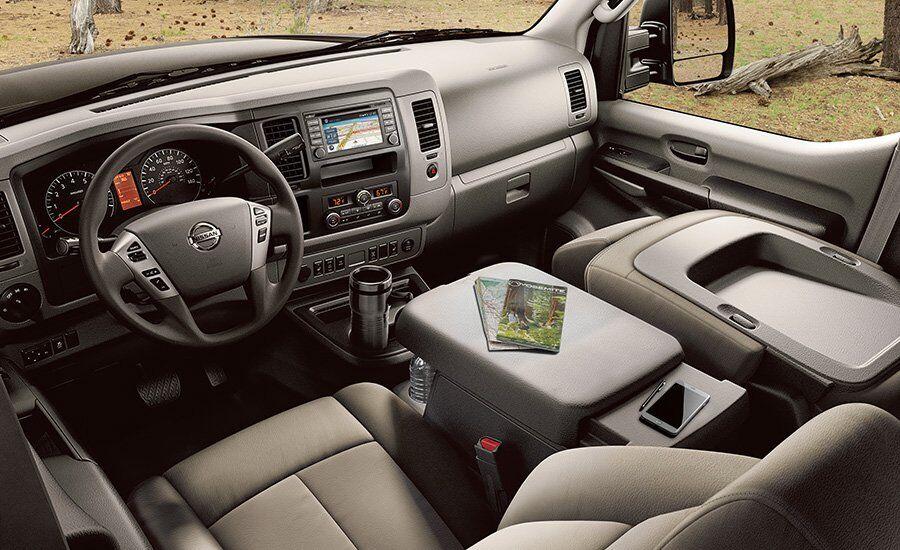 2017 Nissan NV Passenger  Front Dash