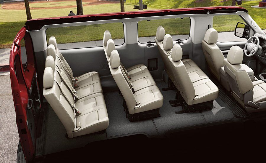 2017 Nissan NV Passenger  Seating Configurations