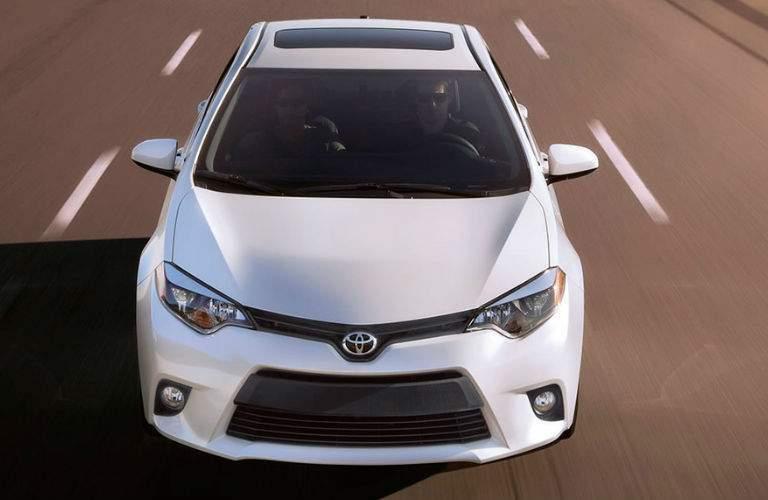 2015 Toyota Corolla shown in white