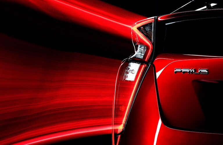 2016 Toyota Prius rear design