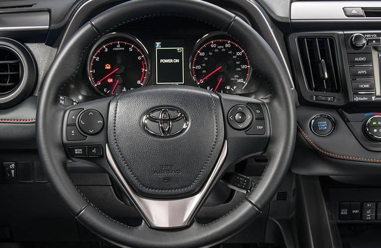 2016 Toyota RAV4 dashboard