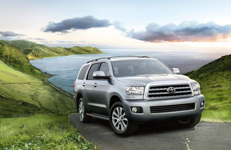 2016 Toyota Sequoia in grey