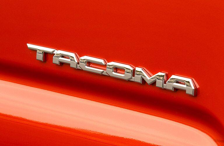 2016 Toyota Tacoma badging