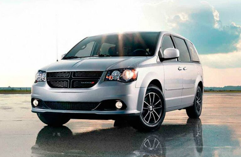 2016 Dodge Grand Caravan exterior in light grey