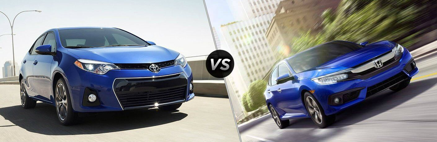 2017 Corolla vs 2017 Civic