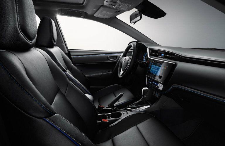 2017 Toyota Corolla interior stitching