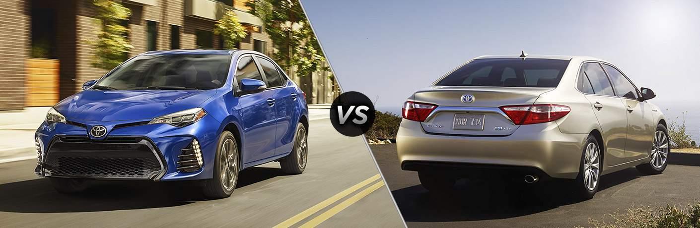 2017 Toyota Corolla vs 2017 Toyota Camry