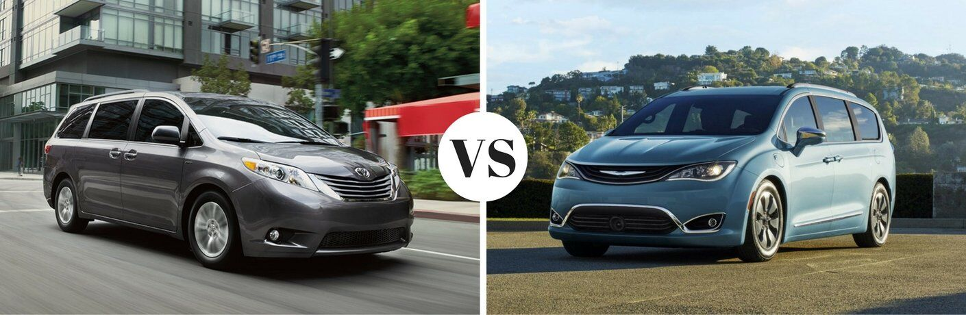 2017 Toyota Sienna vs. 2017 Chrysler Pacifica