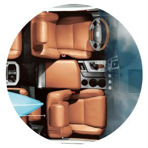 Does the Toyota Sequoia have leather seats?