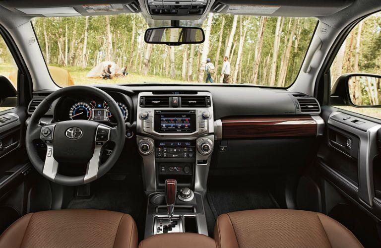 2017 Toyota 4Runner seat material