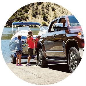 How much can the Toyota Tundra tow?