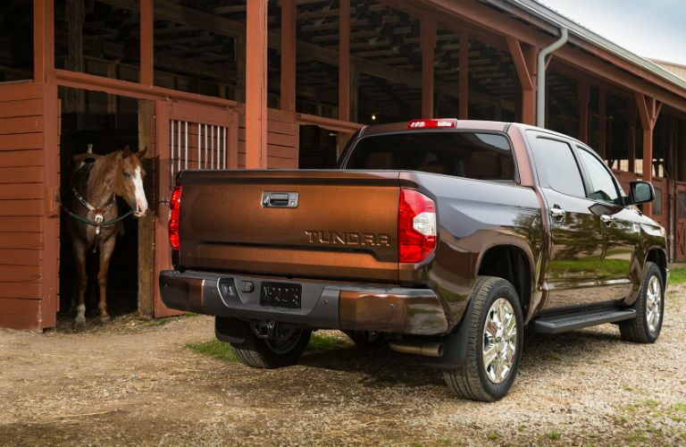 2017 Toyota Tundra color options