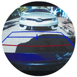 Does the Toyota Corolla come standard with a rearview camera?