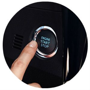 Does the Corolla have push-button start?