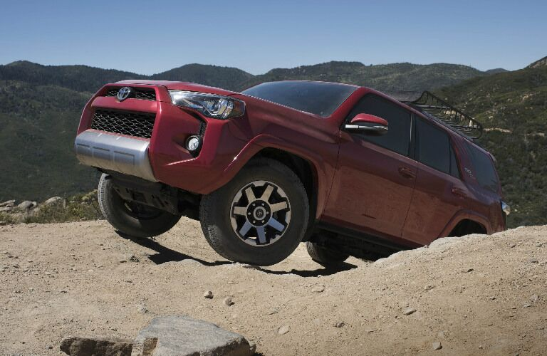 2017 Toyota 4Runner off-roading