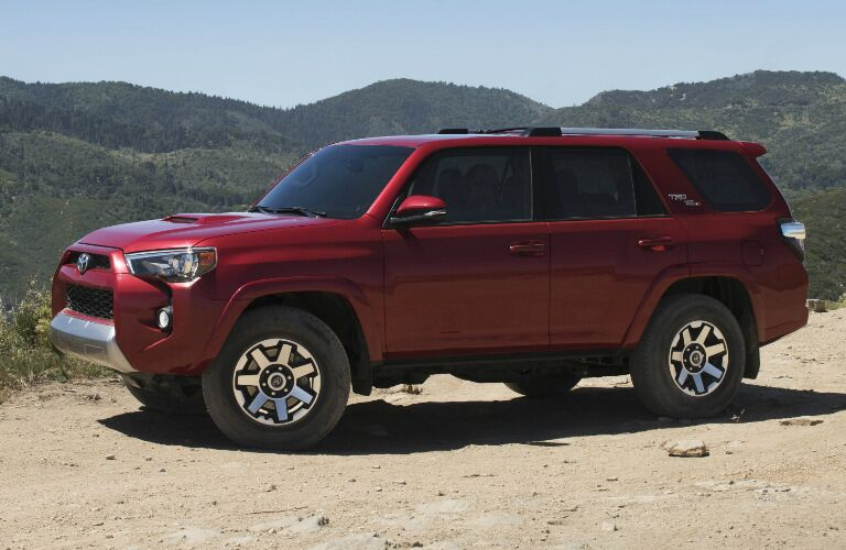 2017 Toyota 4Runner TRD side view