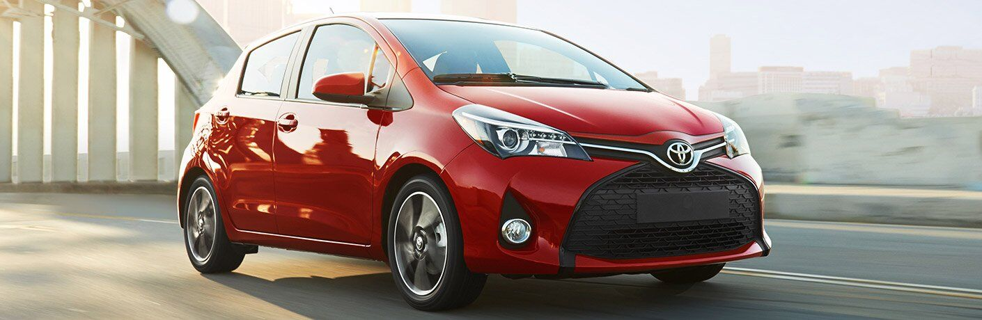 2017 Yaris in Red