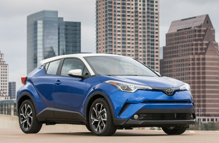 2018 Toyota C-HR front side view