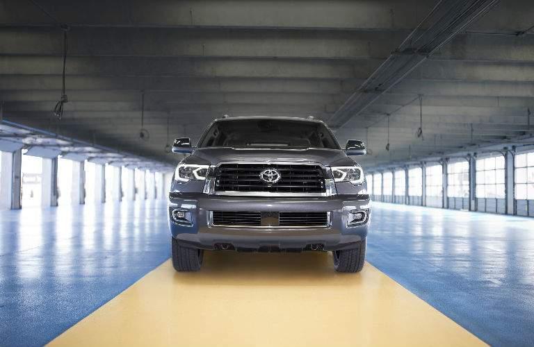 2018 Toyota Sequoia front fascia