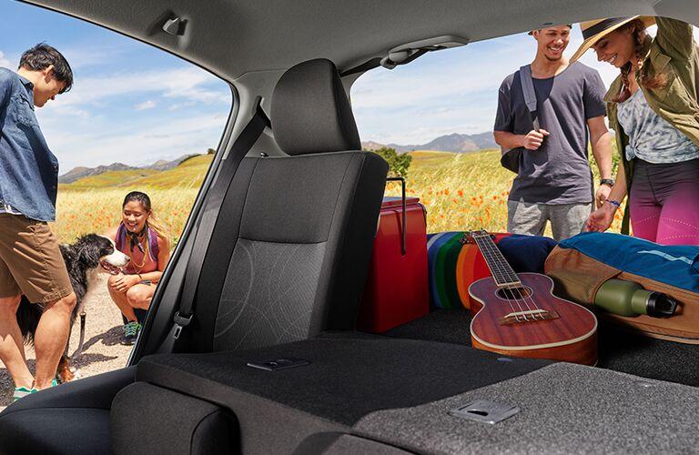 2019 Toyota Prius c cargo space