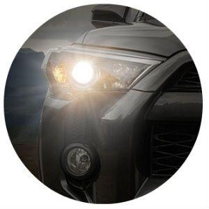 2016 Toyota 4Runner headlights