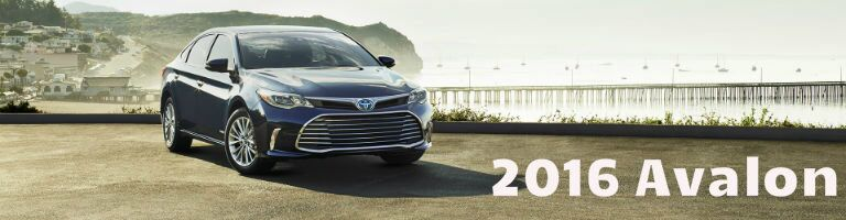 2016 Toyota Avalon model information