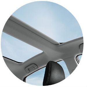 Does the 2017 Toyota Prius v have a moonroof?