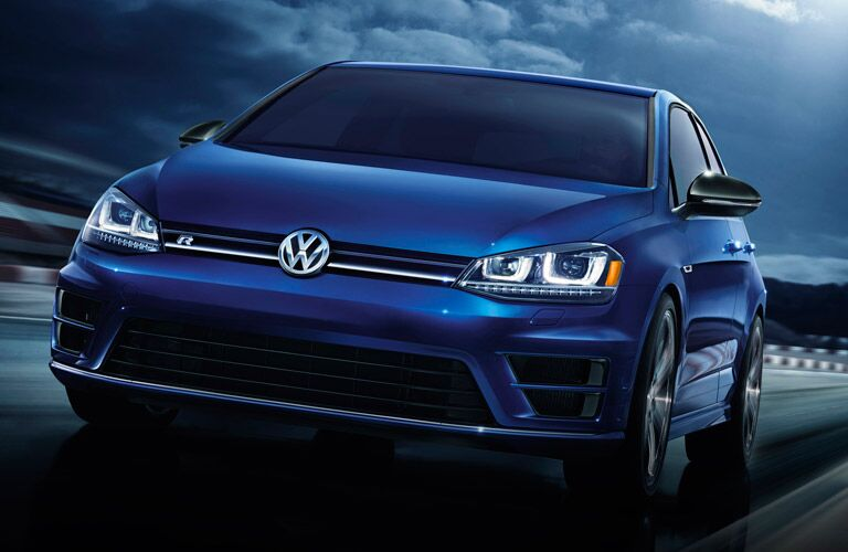 2016 Volkswagen Golf R Blue Color Option
