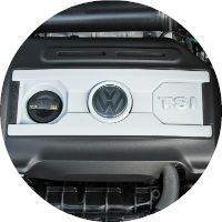 2016 VW Tiguan 2.0-liter Engine