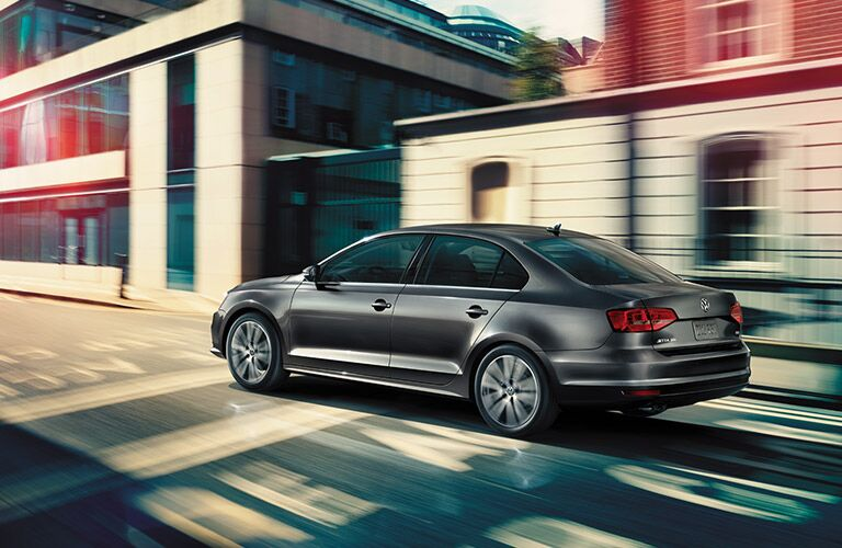 2016 Volkswagen Jetta Rear and Side Profile