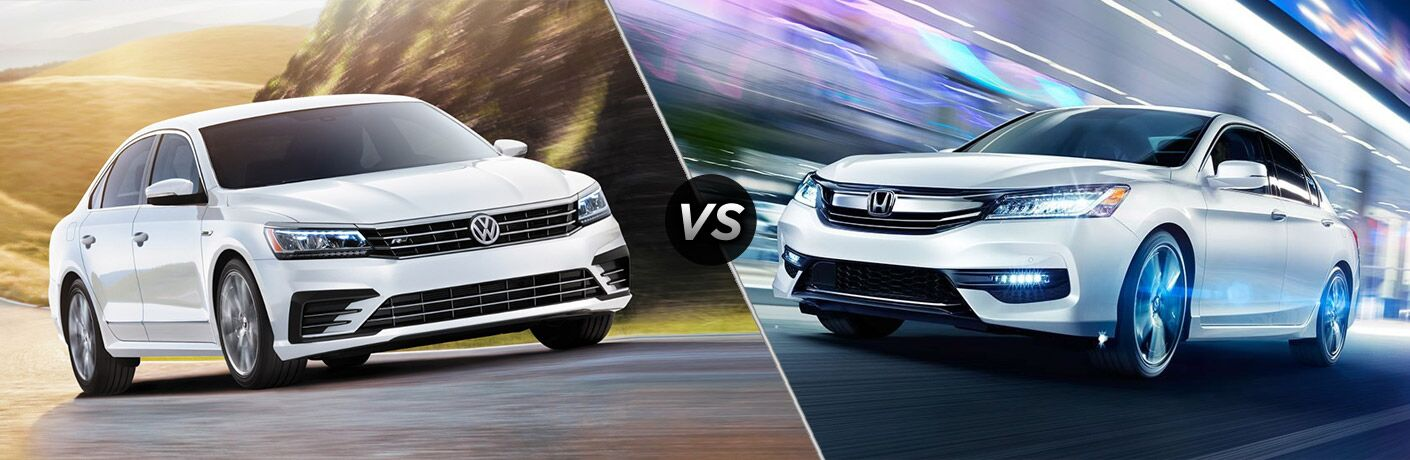 2017 VW Passat vs Honda 2017 Accord