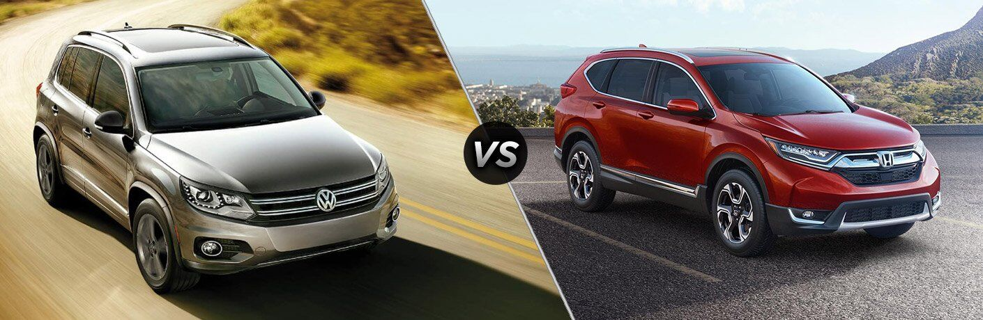 2017 VW Tiguan vs 2017 Honda CR-V