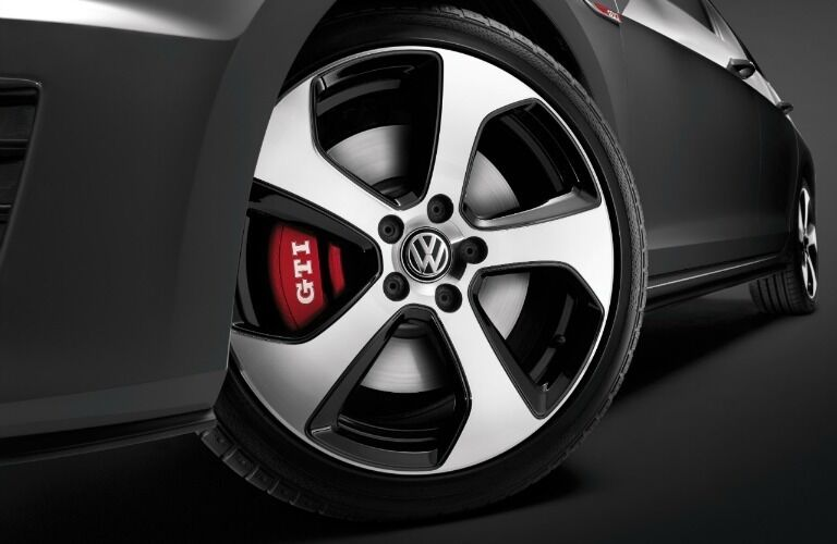 2017 Volkswagen Golf GTI  Austin Alloy Wheels with Red Brake Calipers