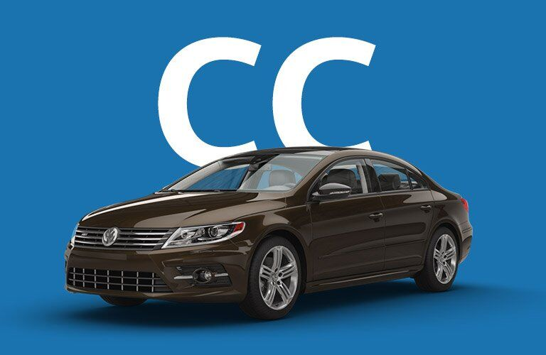 Volkswagen CC front and side profile
