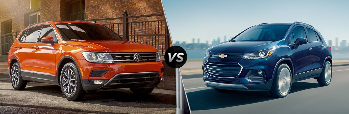2018 tiguan compared to 2018 chevy trax