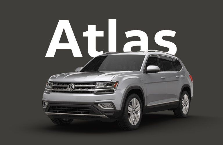Volkswagen Atlas front and side profile